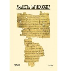 Analecta Papyrologica, V (1993)