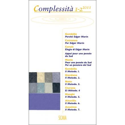 Complessità, 1-2 (2011)