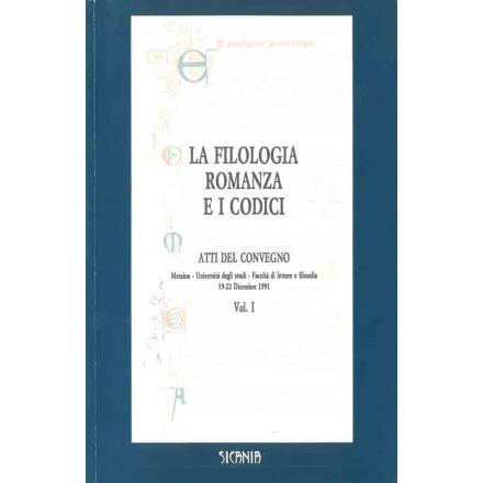 La filologia romanza e i codici