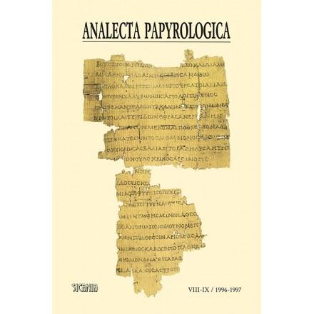 Analecta Papyrologica, VIII-IX (1996-1997)