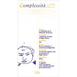 Complessità, 1 (2016)