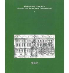 Monumenta historica messanensis studiorum universitatis