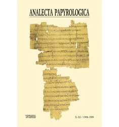 Analecta Papyrologica, X-XI (1998-1999)