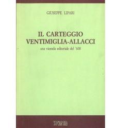 Il carteggio Ventimiglia-Allacci