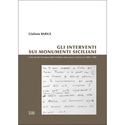 Gli interventi sui monumenti siciliani