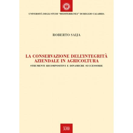 La conservazione dell'integrità aziendale in agricoltura