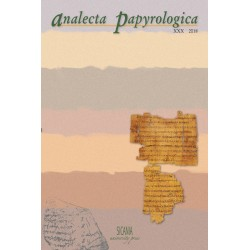 Analecta Papyrologica, XXX (2018)