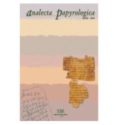 Analecta Papyrologica XXXI (2019)