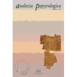 Analecta Papyrologica, XXVII (2015)
