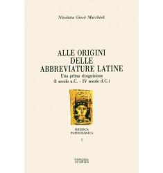 Alle origini delle abbreviature latine