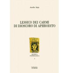 Lessico dei carmi di Dioscoro di Aphrodito