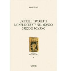 Usi delle tavolette lignee e cerate nel mondo greco e romano